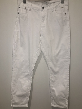 JUMP CAPRI PANTS - WHITE