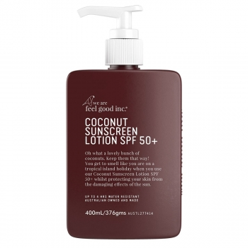COCONUT SPF50+ 400ML SUNSCREEN LOTION